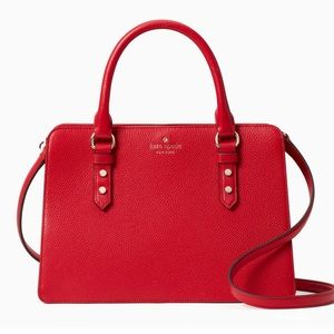 Kate Spade Mulberry Street Lise Hot Chilli